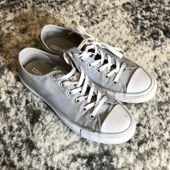 Converse All Star Glam W shoes silver